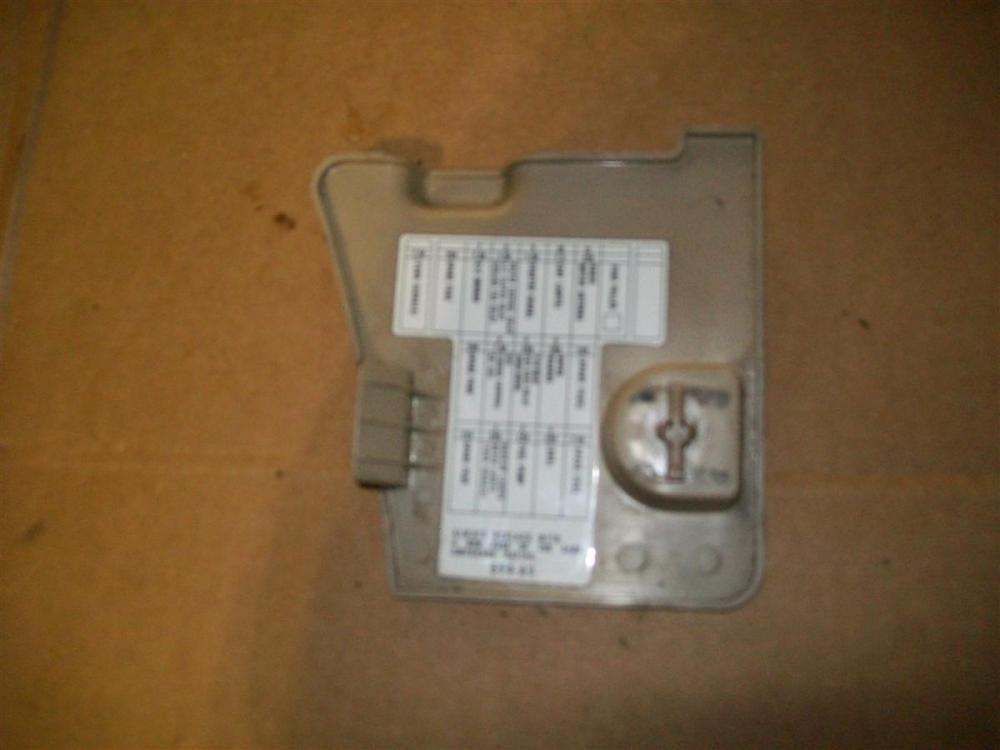 medium resolution of 94 95 96 97 honda accord lh dash trim fuse cover ebay 97 accord fuse box