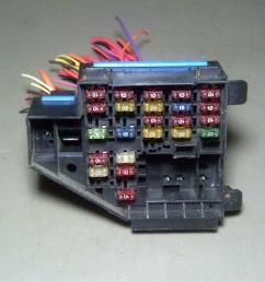 1996 buick skylark under dash fuse box pigtail with some fuses this is the fuse box that is located under the dash it comes exactly as you see it pictured  [ 1200 x 900 Pixel ]