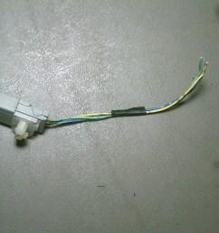 1998 honda accord ex 4 door passengers side front door runs to side view power mirror wiring harness pigtail [ 1200 x 900 Pixel ]