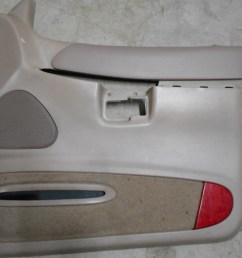 details about 98 99 00 ford explorer 4 door rh front door panel medium tan color code x [ 1200 x 900 Pixel ]