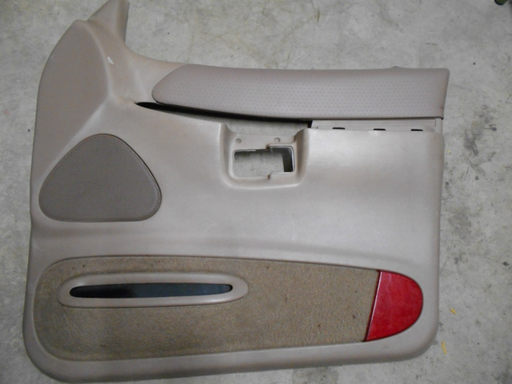 medium resolution of details about 98 99 00 ford explorer 4 door rh front door panel medium tan color code x