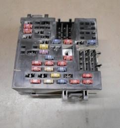 details about 01 gmc sierra chevy chevrolet silverado 1500 under dash fusebox fuse relay box [ 1200 x 900 Pixel ]