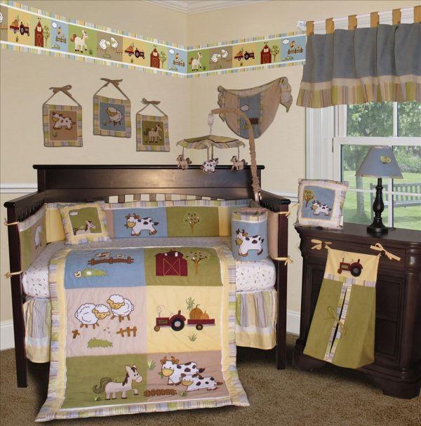 Baby Boutique - Farm 13 Pcs Crib Nursery Bedding