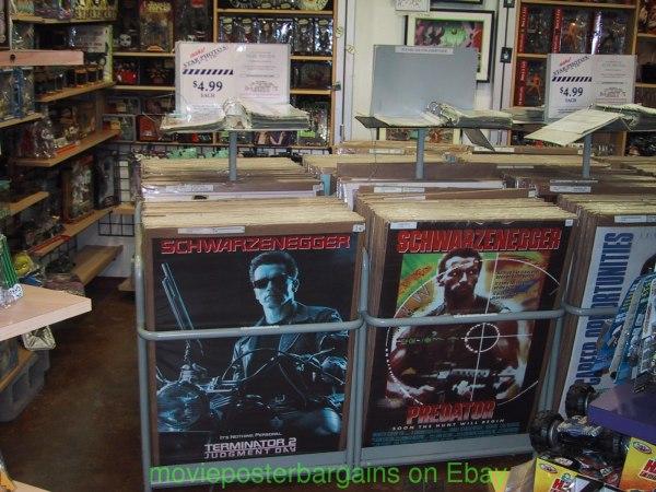 Cardboard Movie Display