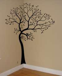 Wall Decal Tree Branch Birds Leaves Art Sticker Mural ...