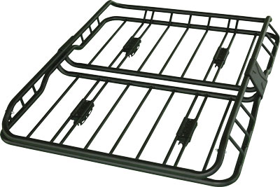 The coverhouse : New Deluxe roof Mount basket cargo