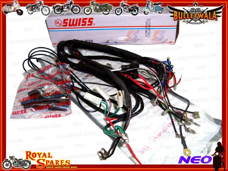 6v COMPLETE MAIN WIRING HARNESS EARLY ROYAL ENFIELD Cheapest
