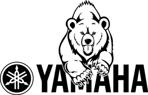 Yamaha Grizzly Stickers Satu Sticker