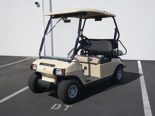 2003 Club Car ds IQ Electric golf cart 48v 48 volt 4