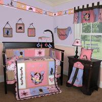Baby Boutique -Western Cowgirl 13 PCS Crib Bedding Set | eBay