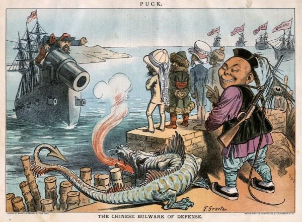Uncle Sam Imperialism Political Cartoon