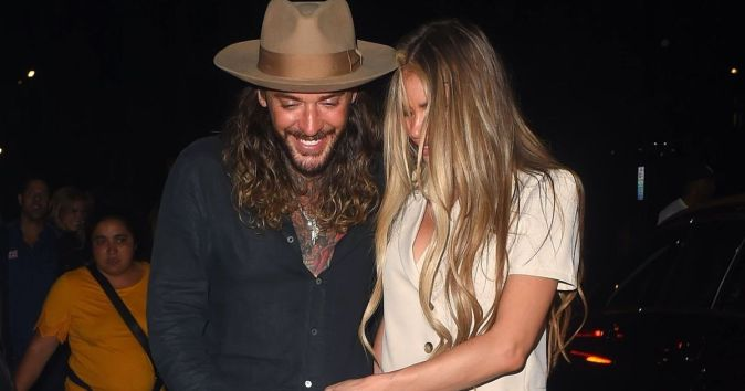 Chloe Sims and Pete Wicks enjoy cosy night out together in London's Mayfair