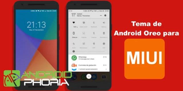 Android Oreo asunto MIUI