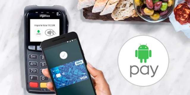 Android Pay BBVA quince euros