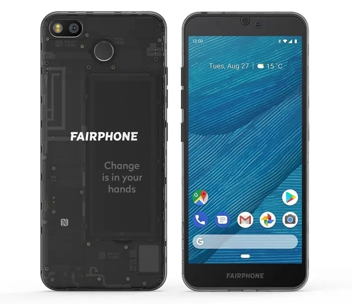 Caracteristicas del Fairphone 3