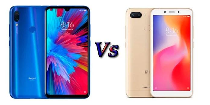 Comparativa Redmi 7 Vs Redmi 6