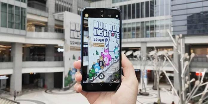 Elephone A6 Mini en mano