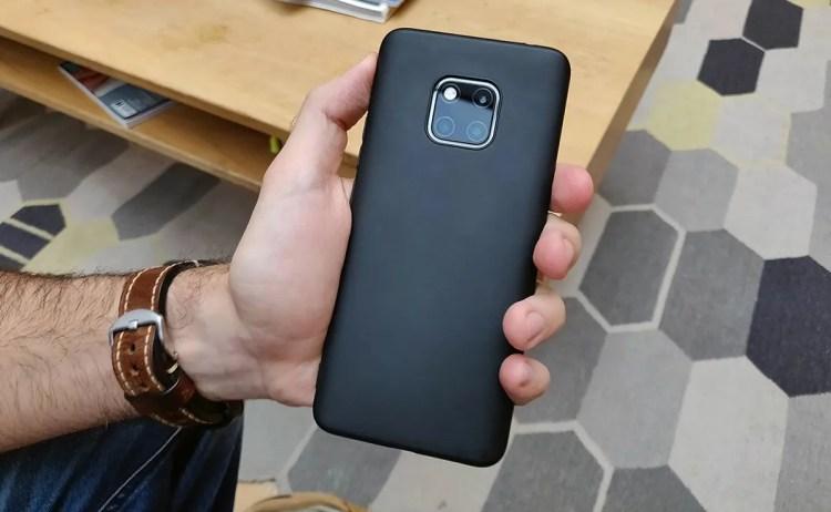 El Huawei Mate 20 Pro tiene un diseño impresionante