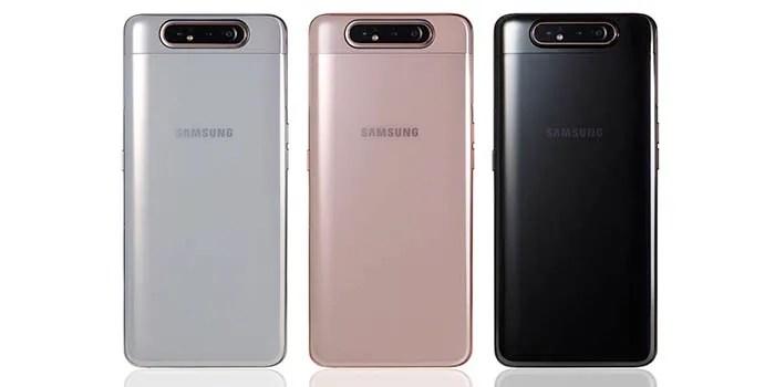Galaxy A80 características