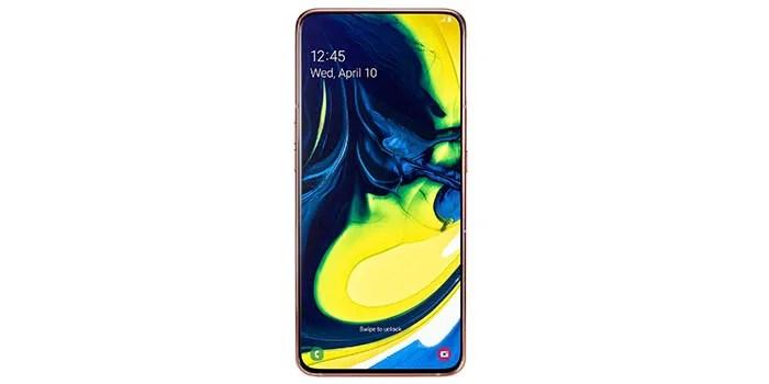 Galaxy A80 frontal