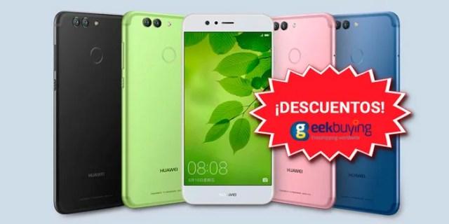 Huawei Nova 2 y Nova 2 Plus descuentos Geekbuying