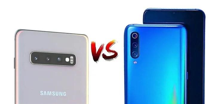 Se enfrentan Xiaomi Mi 9 vs S10+