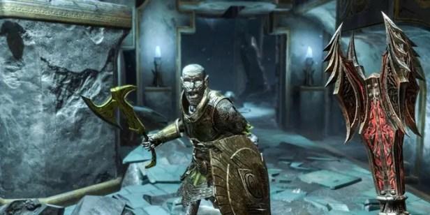 The Elder Scrolls Blades ataques