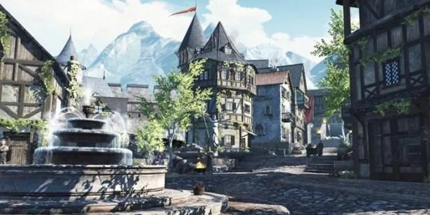 O mundo dos Elder Scrolls Blades