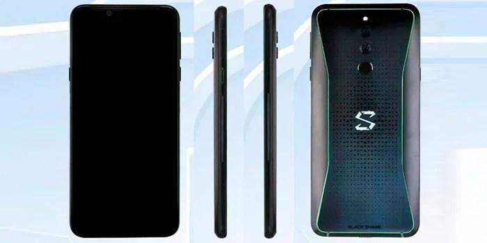 Xiaomi Black Shark 2 gamer para celular