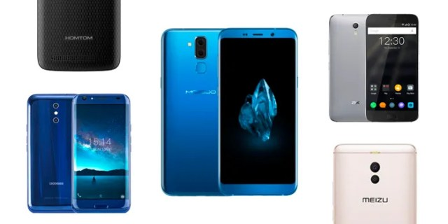 Comprar móviles chinos baratos octubre 2017