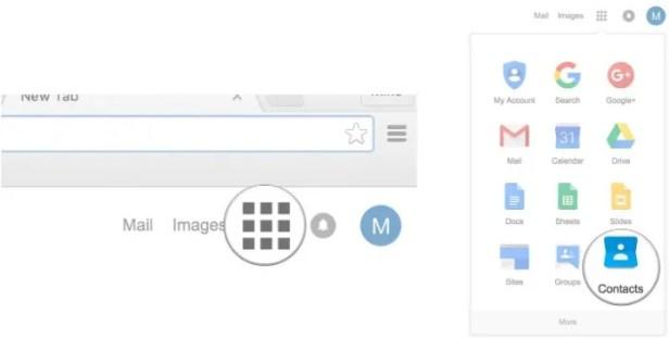 Carrega contatos do iphone para o android