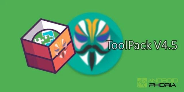 mejor pack herramientas(tools) magisk toolpack v4 5