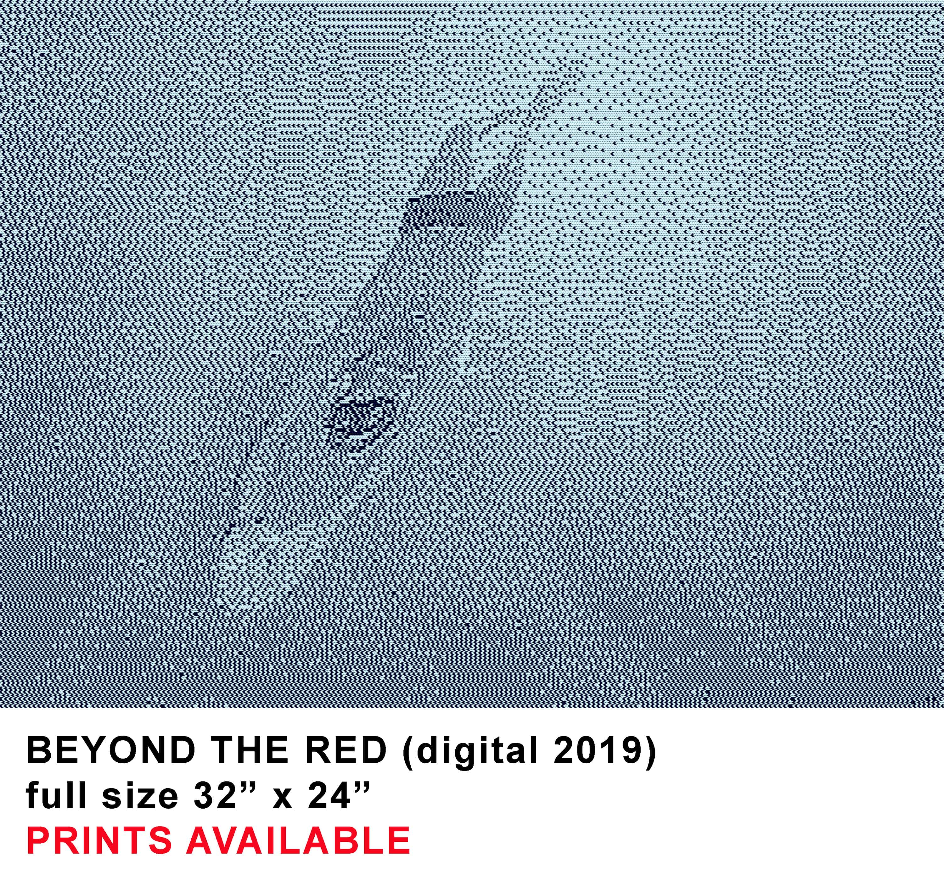 BEYOND THE RED digital template