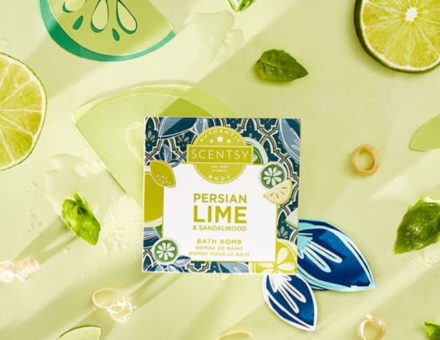 Bath Bomb news: Persian Lime arrives; Lucky in Love and Honeymoon Hideaway return!