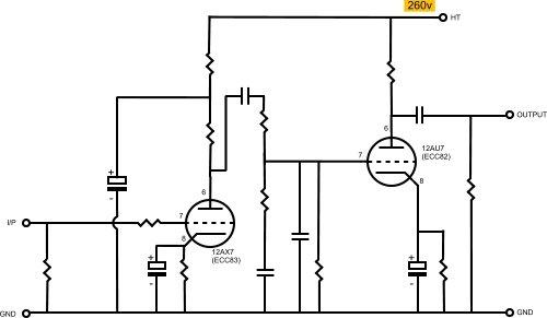 Product- tube ank Pre Phono amp
