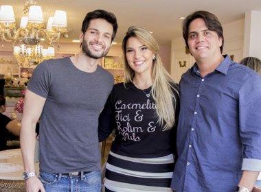 SociAlê: Priscilla Diniz inaugura Confeitaria com centenas de clientes