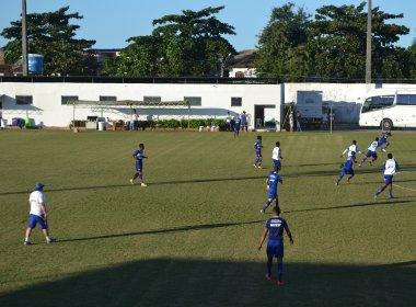 Em treino aberto, Guto comanda novo tático e deixa uma dúvida no time do Bahia