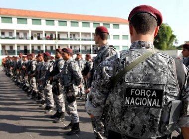 Força Nacional terá mais de 7 mil homens, diz nota conjunta dos 3 poderes