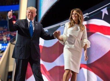 Antes de tomar posse, Trump divulga slogan para buscar reeleição em 2020