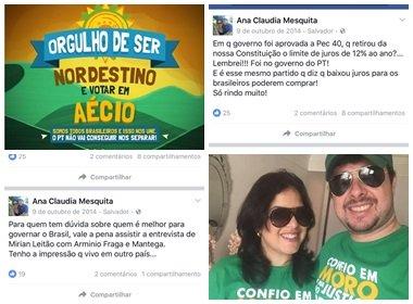 Juíza que proibiu Alice de chamar ACM Neto de 'golpista' era a favor do PSDB em 2014