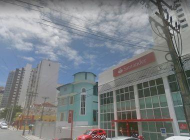 Santander é condenado a indenizar clientes em R$ 90 mil por assalto em agência de Salvador