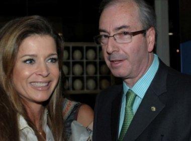 Mulher de Cunha indica deputados e ministros como testemunhas na Lava Jato
