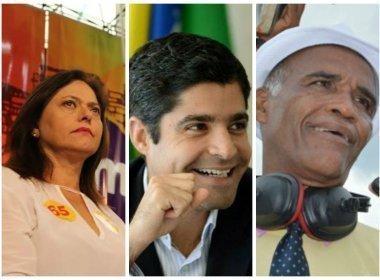 Ibope/TV Bahia: ACM Neto chega a 69% de intenções de voto; Alice tem 12%