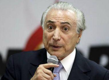 Por esquecer de 'provar' que está vivo, Temer ficou sem receber aposentadoria de R$ 22,1 mil