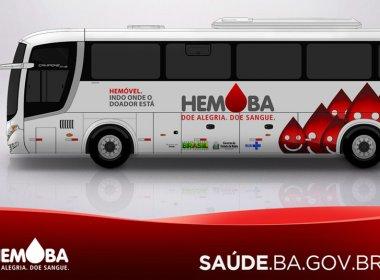 Hemoba realiza coleta de sangue no Salvador Shopping e na Rodovia Conde Esplanada