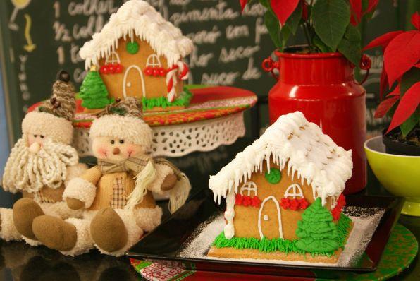 Casinha de Natal Gingerbread