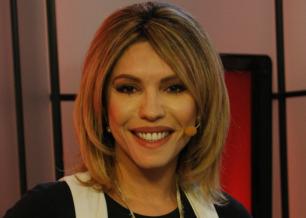 A apresentadora Márcia Goldschmidt