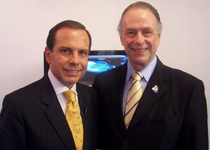 João Doria Jr. e Carlos Arthur Nuzman, presidente do Comitê Olímpico Brasileiro