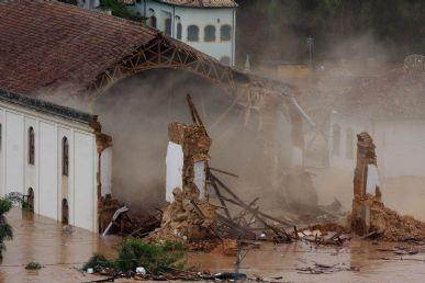 Enchentes castigaram São Luiz do Paraitinga