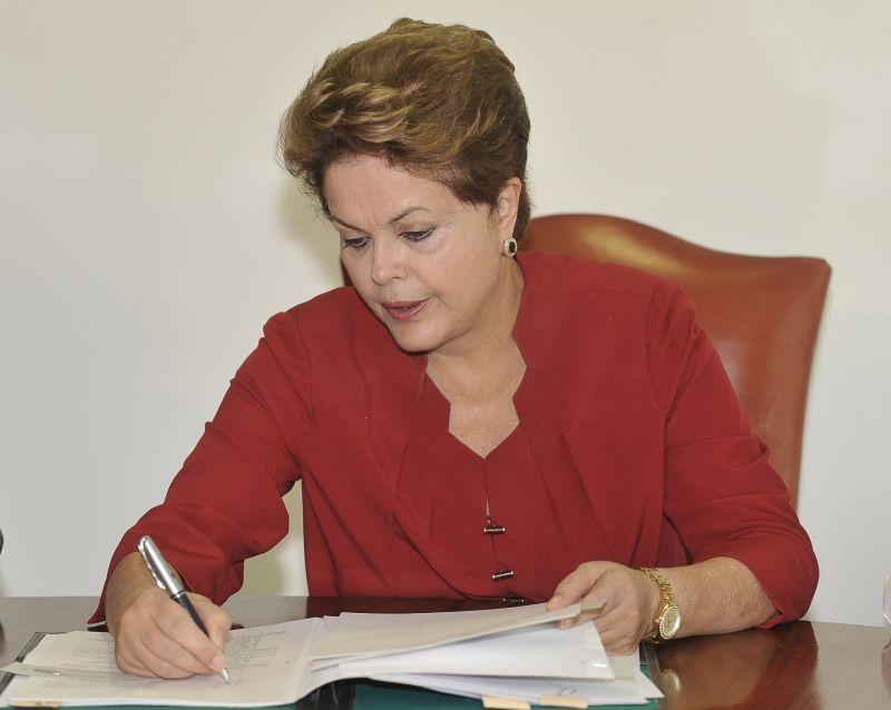 Ao final da mensagem, a presidenta reconheceu o papel do Congresso Nacional para a construção de um país mais democrático, justo e soberano / José Cruz/ABr